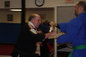 Salt City Karate, Syracuse new York - Paul Snyder was promoted to the rank of Third Degree Black Belt - San-Dan (58)