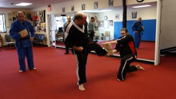Salt City Karate, Syracuse new York - Paul Snyder was promoted to the rank of Third Degree Black Belt - San-Dan (61)