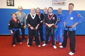 Salt City Karate, Syracuse new York - Paul Snyder was promoted to the rank of Third Degree Black Belt - San-Dan (65)