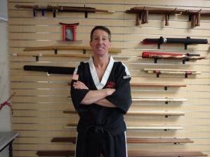 Mr. Jeffrey C. Bertolo Sensei-Dojo Cho 7th Dan. Traditional Japanese Karate-Do